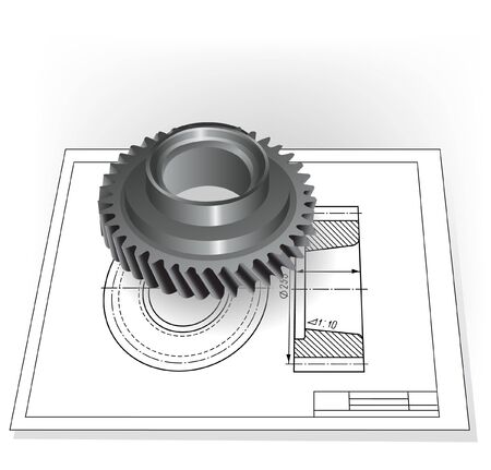 bearing: Auto Spare Part  Illustration
