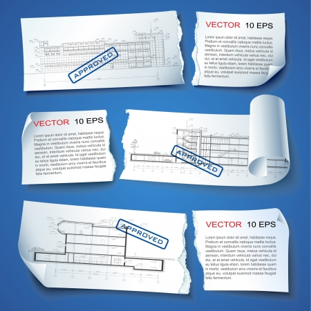 Set of vector sample stickers on neutral background for various use  More in my portfolio  Vector