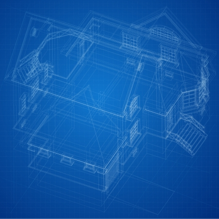 house diagram: Urban Blueprint  vector   Architectural background  Part of architectural project, architectural plan, technical project, drawing technical letters, design on paper, construction plan