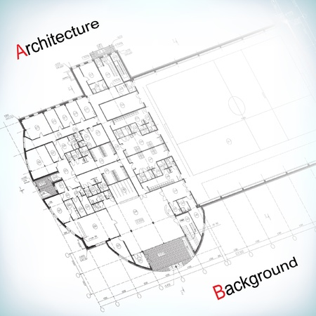 blue print: Architectural background