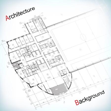 arquitecto: Fondo arquitect�nico Vectores