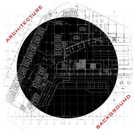 Conceptual architectural background Stock Vector - 14827362