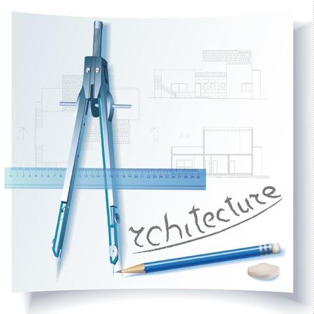 surveyor: Fondo símbolo arquitectónico