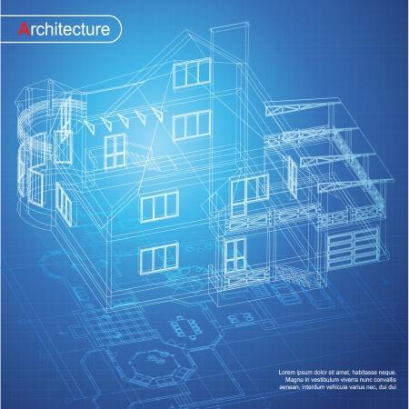 dibujo tecnico: Urban Parte Blueprint fondo arquitect�nico del proyecto arquitect�nico, proyecto arquitect�nico, proyecto t�cnico, dibujo cartas t�cnicas, el dise�o en papel, plan de construcci�n Vectores