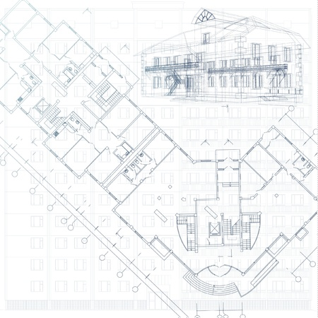 floor plan: Architectural background - Part of architectural project, architectural plan, technical project, drawing technical letters, architecture planning on paper, construction plan