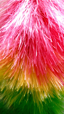 abstract Brooms Colorful Dusters Stock Photo