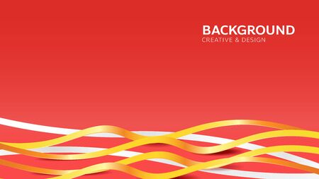 Abstract dynamic wave line background