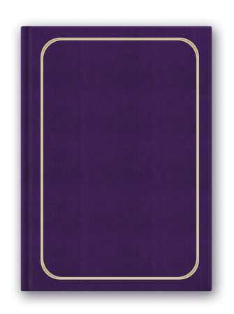 PS illustration of the closed hardcover book
