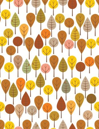 �rboles con pajaros: Marr�n bosque modelo transparente para ni�os