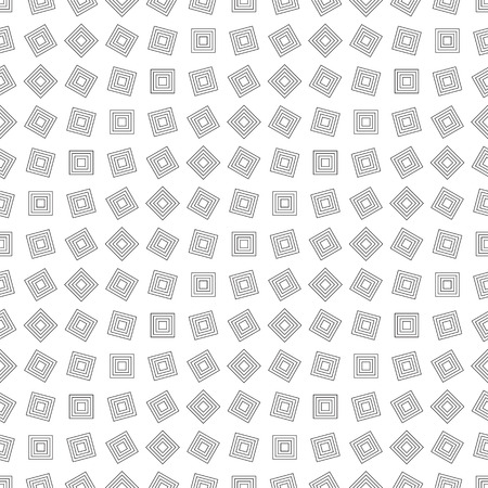 illustion: Seamless pattern illustration made of outlined squares