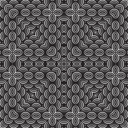 Seamless pattern in black and shades of gray