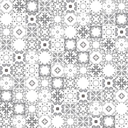 Nahtlose Muster Illustration in der traditionellen Art - wie portugiesischen Kacheln