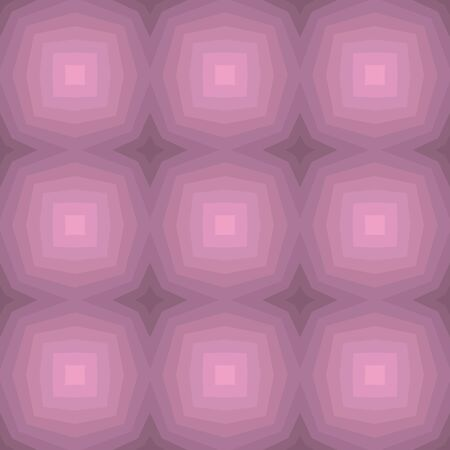 Seamless illustrated pattern in shades of pink Illustration