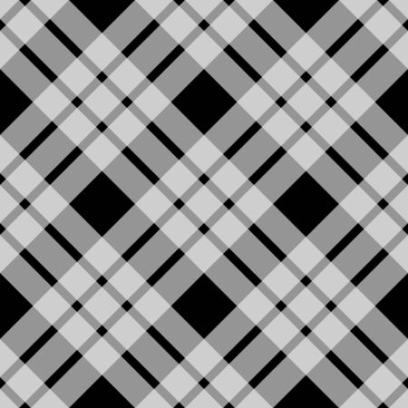 grey pattern: Seamless illustrated black and grey check pattern