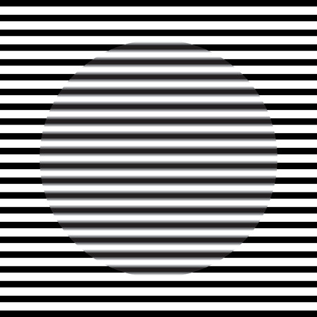 parallel: Optical illusion - parallel lines sharp and blurry