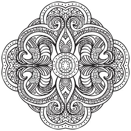 Hand Drawn Decorative Design Element