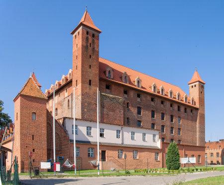 teutonic: Castello medievale dei Cavalieri Teutonici in Gniew, Polonia Editoriali