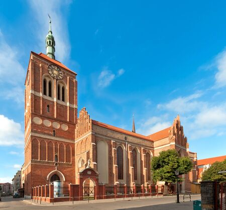 Gothic St John church in Gdansk Danzig in Poland after renovation