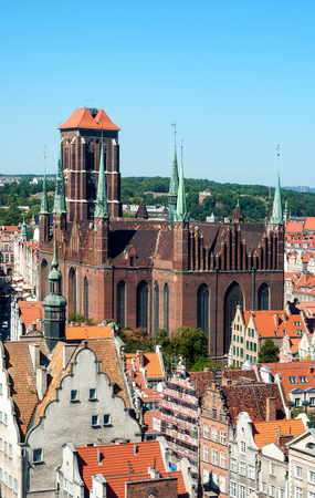 saint: Saint Mary Cathedral in Gdansk Old City, Poland
