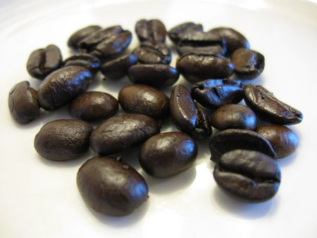 Coffee beans before grinding