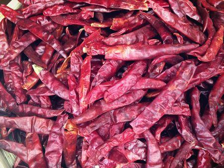 closeup: Closeup red chili background