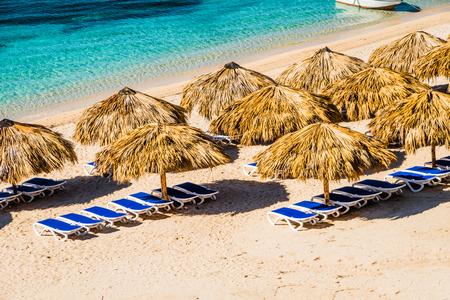 Amazing view of a paradisiac beach in Playa Ancon