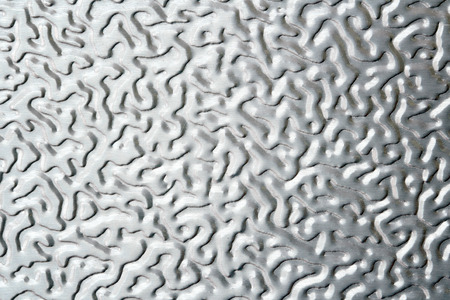 plate: Shiny metal texture pattern style of steel floor for background , steel background Stock Photo