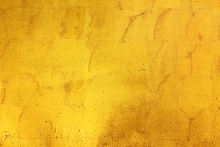 Gold texture wallpaper Stock Photo