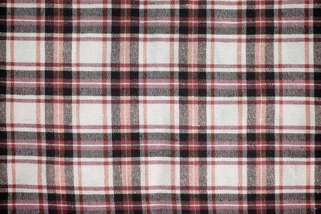 Plaid seamless pattern photo