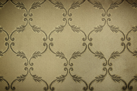 purl: dark gold guipure, embroidery on cloth for wedding dress, texture