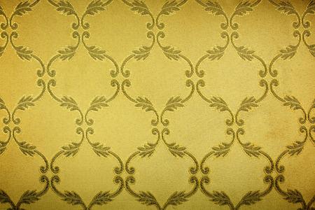 tissu or: Guipure d'or, broderie sur tissu Banque d'images