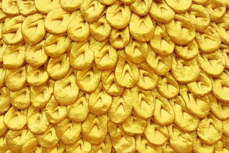 golden texture: abstract texture d'oro