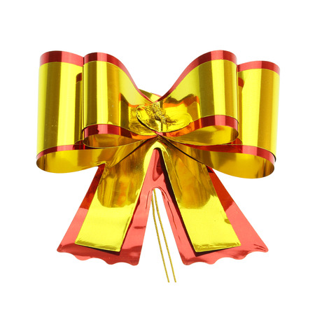 and gold: gold bow Stock Photo