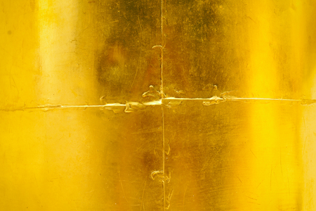 Gold polished metal texture