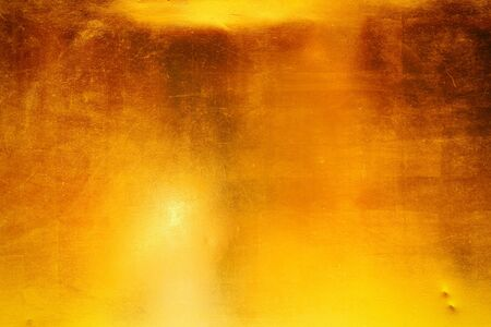metal grunge: Dark gold polished metal texture