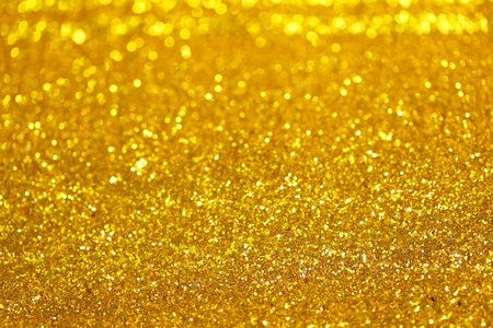 Gold abstract glitter with bokeh background