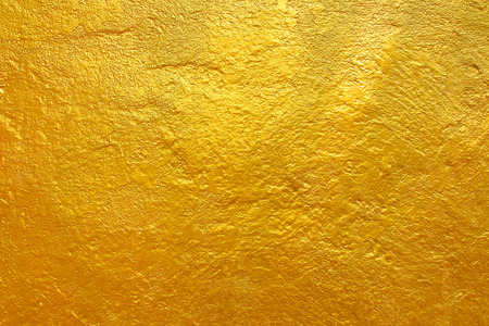 golden cement texture background. Stock Photo