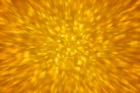 Gold abstract fast zoom speed motion background for design. Stockfoto