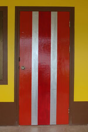 The wooden door photo