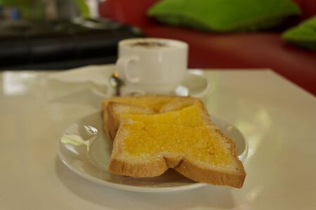 toast and coffee photo
