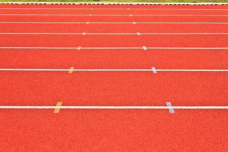 Running tracks photo