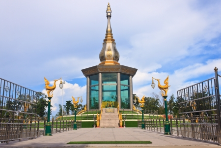 temple paa kung at roi-et thailand photo