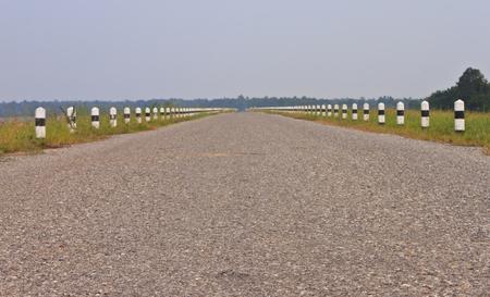 hiway: Rural road  Stock Photo