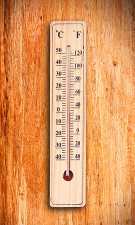 hotter: thermometer