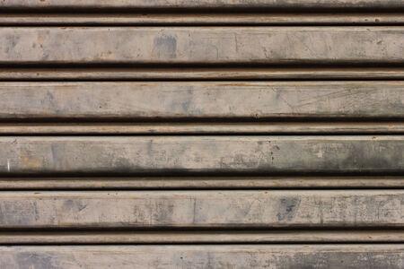 Steel door shutter background photo