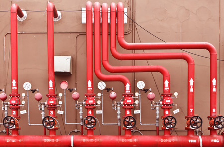 water sprinkler and fire alarm system, water sprinkler control system