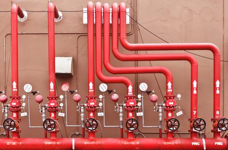 fogatas: rociadores de agua y sistema de alarma contra incendios, sistema de control de rociadores de agua