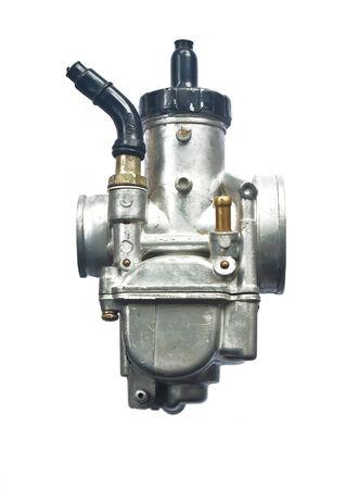 carburetor on white background photo