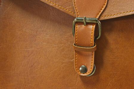 Leather Bag Close Up photo