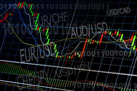 Business background. Market Analyze.Bar graphs, diagrams, financial figures. Forex. photo